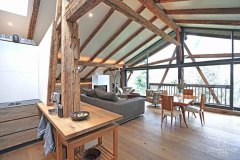 32-Penthouse-Perspektive-Küche-K Gut Stohrerhof