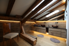 Badezimmer im Penthouse Gut Stohrerhof