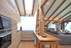 Küche im Penthouse Gut Stohrerhof