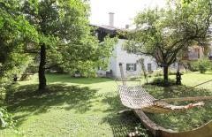 Garten und Hängematte Gut Stohrerhof am Ammersee