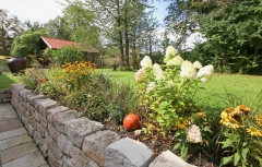 Garten und Blumenbeet Gut Stohrerhof am Ammersee