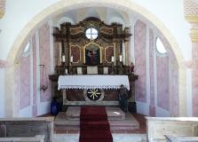 Kapelle innen vom Gut Stohrerhof