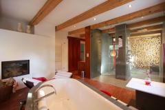 Badezimmer der Belle Etage im Gut Stohrerhof