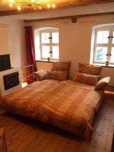 Lounge als Schlafzimmer